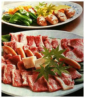 肉バーベキュー